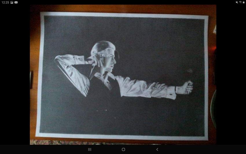 David Bowie par Debijw